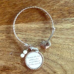 Charm bracelet for bride